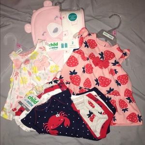 0-3 Months Baby Girl Bundle. All NWT